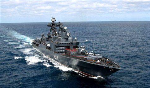 Τέσσερα ρωσικά πολεμικά πλοία